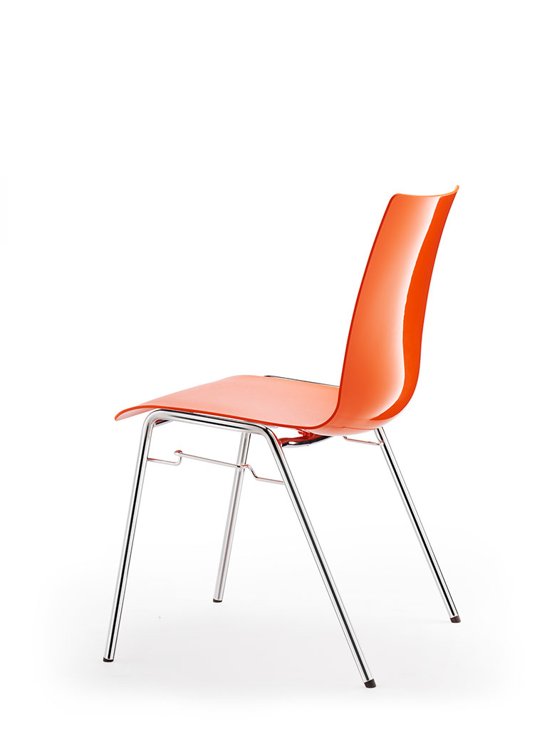 atlanta 456 | polypropylene shell | orange
