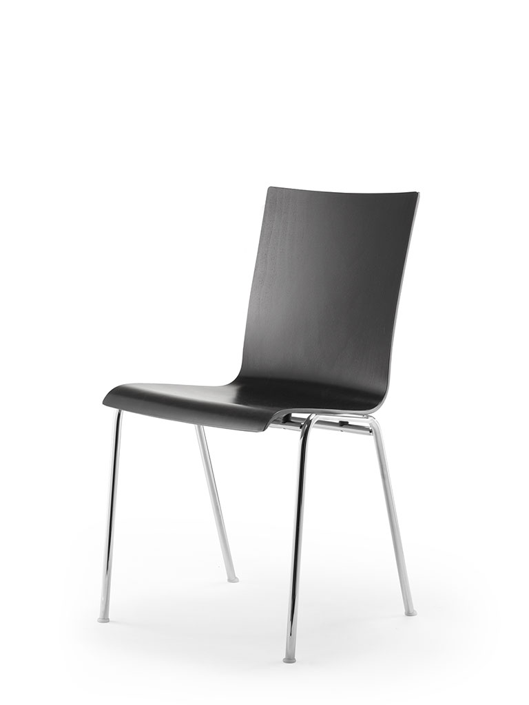 atlanta 50 | steel tube chair | four-legged chair | shell 59 | with armrests | not upholstered